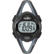 Timex Women's Ironman Sleek 50-Lap Black Watch, Resin Strap
