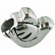 Connexions from Hallmark Stainless-Steel Hope Dove Bead