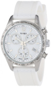 Timex Women's Ameritus Chrono All White Watch, White Strap