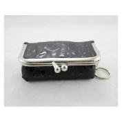 Rectangle Locket Jewellery Travel Case - Black - 4L x 2.6W in.
