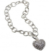 Premium Connection 290-CHTB Bret Roberts Crystal Heart Bracelet
