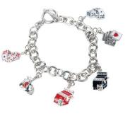 Premium Connection 290-CBTOG Bret Roberts Metal Link Gaming Charm Bracelet