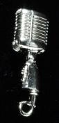 Harmony Jewellery Shure 55SH Microphone Amp Pin in Silver