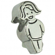 Connexions from Hallmark Stainless Steel Girl Bead