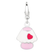 EZ Charms Sterling Silver Baby Lamp Charm