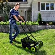 Sun Joe Mow Joe 50.8cm Manual Reel Mower with Catcher