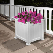 New England Arbours Cardiff Square Box Planter
