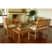 Milano Casual Eucalyptus Conversation Set - Seats 5