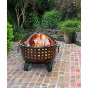 Landmann USA Garden Lights Savannah Firebowl, Antique Bronze