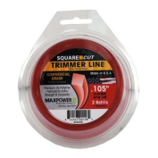 Maxpower Precision Parts .105in. x 30ft. Square One Trimmer Line 332005