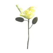 Ancient Graffiti ANCIENTAG1166 14 D Yellow Bird Ceramic Plant Pick