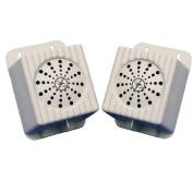 Bird B Gone MMSONIC-SP2 Bird Chase Super Sonic Satelite Speakers - 2 Pack