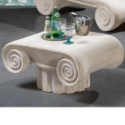 Design Toscano Hadrian's Villa Roman Spa Furniture Cocktail Table