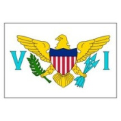 Valley Forge Flags 0.91m x 1.52m Virgin Islands Flag