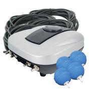 Airmax Eco-systems - Pondair 4- Four Stone Pond Aerator - 120916