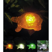 Homebrite Solar Solar Turtle with Colour Change Lighting
