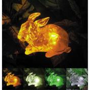 Homebrite Solar Solar Rabbit with Colour Change Lighting