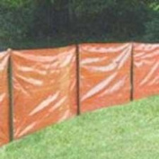 Mutual Industries 14987-45-36 91.4cm X 30.48m Silt Fence Orange Contractors Grade - Roll