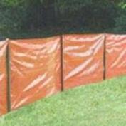 Mutual Industries 14987-45-36 91.4cm X 30.48m Silt Fence Orange Contractors Grade - Roll