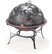 Good Directions 58.4cm . Fire Bowl with Starry Night Fire Dome
