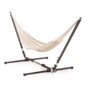 XXL Hand Woven Natural Thick String Hammock
