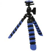Digipower TPF-MP2 Flexible Camera Tripod, Blue/Black