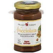 Rigoni Di Asiago Organic Nocciolata Hazelnut Spread With Cocoa & Milk, 280ml