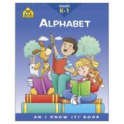 School Zone Curriculum Workbooks, Alphabet, Grades K-1