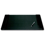 Dacasso P1002 Leather 25x17 Desk Pad with Side Rails