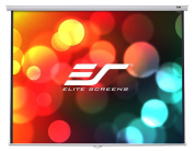Elite Screens 254cm 4:3 Manual Pull Down Projection Screen, Matte White