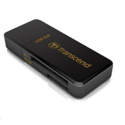 Transcend Compact F5 USB 3.0 BLACK Card Reader/ Writer Supports SDHC/SD/MMC/MicroSD/MicroSDHC/M2
