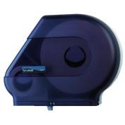 San Jamar Quantum Roll Dispenser with Stub Roll Area in Black Pearl