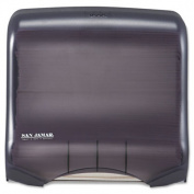 San Jamar Classic Mini C-Fold and Multifold Towel Dispenser in Black Pearl