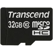 Transcend Information TS32GUSDC10 32GB microSDHC Class 10 Flash Memory Card