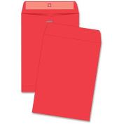 Quality Park Products Fashion Colour Clasp Envelope, 9 X 12, 10/Pack