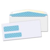 Business Source Double Window Envelopes,No. 9,3-7/8''x8-7/8'',500 per Box,White