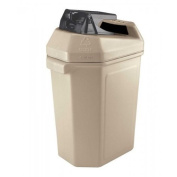 DCI Marketing 745102 Can Pactor Can Crusher and Waste Container - Beige