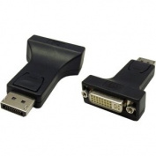 4XEM DisplayPort M to DVI F Adapter