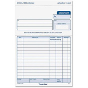 TOPS BUSINESS FORMS                                Statement Forms, 2-Part, Carbonless, 5-1/2''x8-1/2'', 50 Setsper Pack