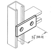 Morris Products 2 Hole Splice Plate