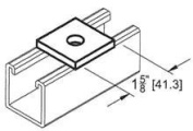 Morris Products 0.38'' Square Washer