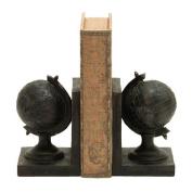 Woodland Imports World Globe Themed Book End