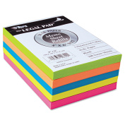 TOPS Fluorescent Colour Memo Sheets, 9.1kg, 4 x 6, Assorted, 500 Sheets/Pack