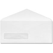 Columbian Poly-Klear Single Window Envelope, #9, 3 7/8 x 8 7/8, 500/Box
