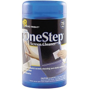READ RIGHT One Step Crt Screen Cleaner Wet Wipes