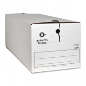 Business Source String/Button Storage File Boxes