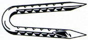 Prime Source 1-. 130cm Fence Staples 112HGFS