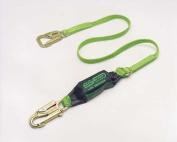 Miller by Sperian BackBiter Tie-Back Lanyards - 1.8m backbiter tie back lanyard w/snap hooks green