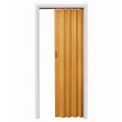 HomeStyles Plaza Vinyl Accordion Door, 120cm x 240cm , Oak