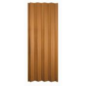HomeStyles Regent Vinyl Accordion Door, 90cm x 200cm , Fruitwood